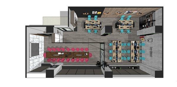 科技公司辦公室設計 室內規劃設計3D圖 (3).jpg