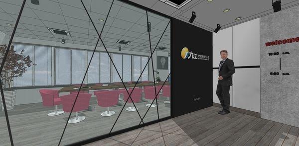 科技公司辦公室設計 入口處規劃設計.jpg