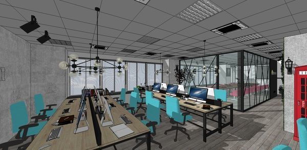 科技公司辦公室設計 辦公室空間設計.jpg