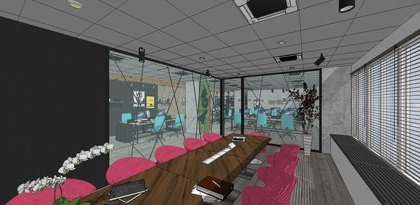 科技公司辦公室設計 辦公室開放式設計.jpg