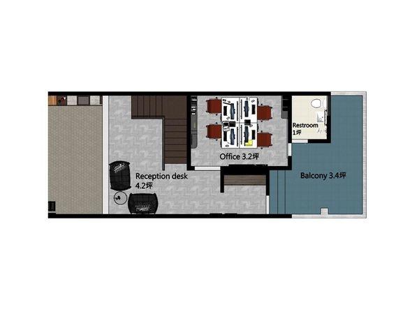 台中辦公室設計 二樓室內規劃設計平面圖.jpg