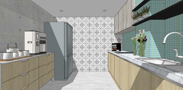 台中辦公室設計 廚房空間系統櫥櫃設計.jpg