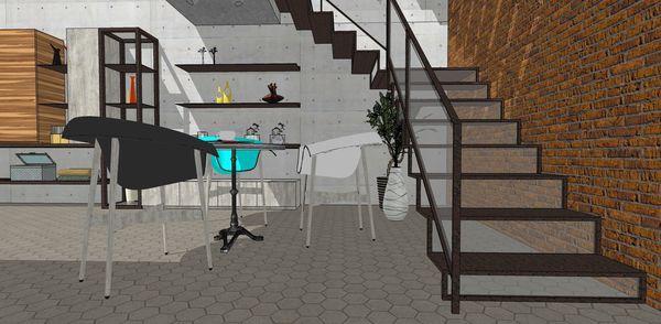 台中辦公室設計 鐵件樓梯設計.jpg