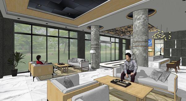 企業大廳設計 大廳空間圓柱設計.jpg