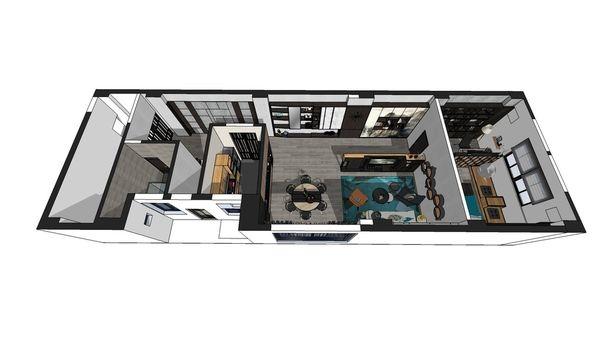 台中老屋翻新改造 室內空間設計規劃3D圖.jpg
