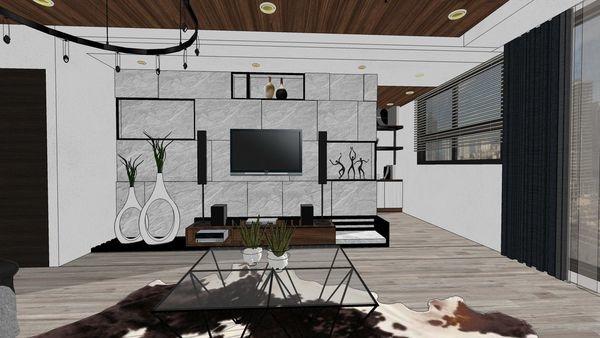 台南興富發 真愛 客廳空間系統電視櫃設計 (3).jpg