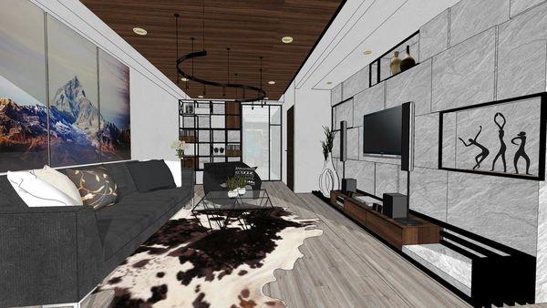 台南興富發 真愛 客廳空間系統電視櫃設計.jpg