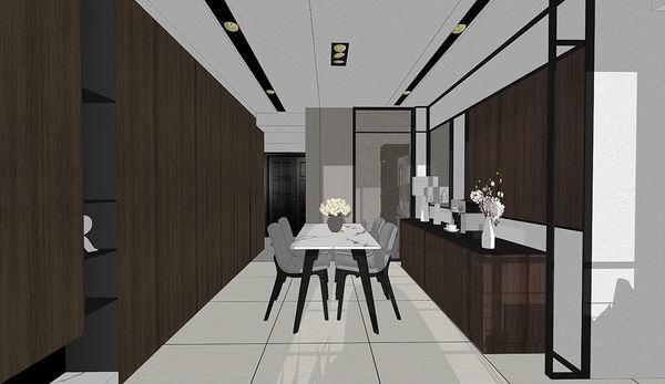 惠宇新觀室內設計 玄關空間收納系統櫃設計.jpg