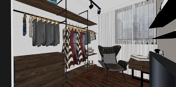 惠宇新觀室內設計 更衣室系統衣櫃設計.jpg