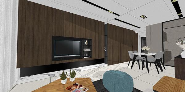 惠宇新觀室內設計 客廳空間系統電視櫃設計.jpg