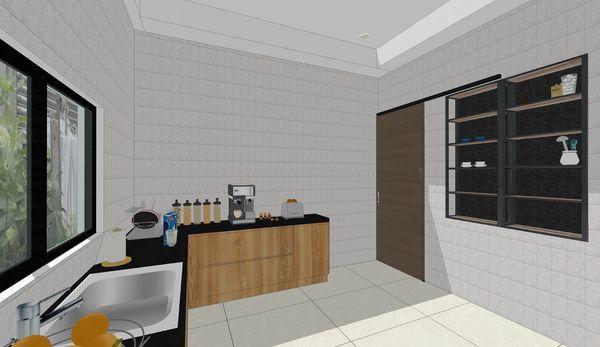 南投 草屯 老屋翻新 餐廳空間系統櫥櫃設計.jpg