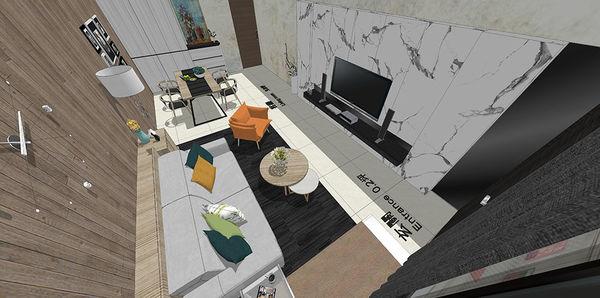 南投 草屯 老屋翻新 室內空間設計規劃3D圖.jpg