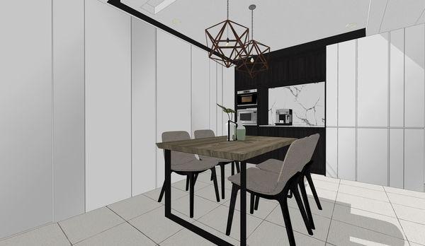 烏日老屋改造翻新 餐廳空間系統餐櫥櫃設計.jpg
