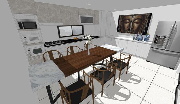 南投老屋改造 廚房空間系統櫥櫃設計.jpg