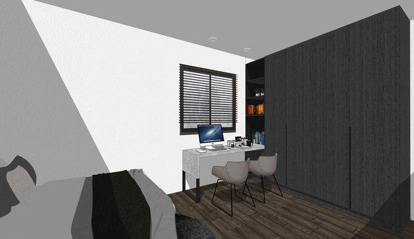 埔里舊屋改造 次臥室系統衣櫃設計.jpg