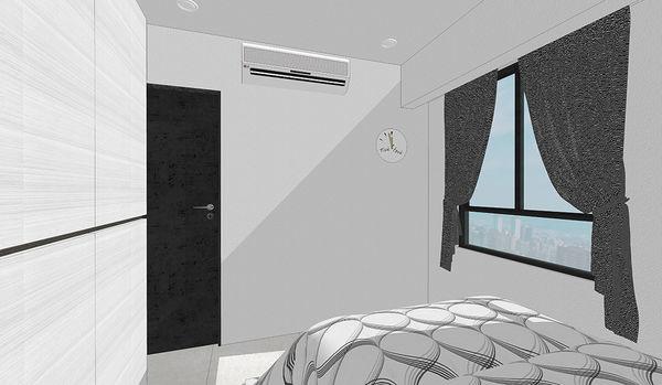 登陽中山苑 臥室空間系統衣櫃設計 (2).jpg