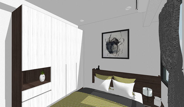 登陽中山苑 臥室空間系統衣櫃設計.jpg