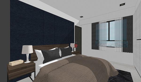 登陽中山苑 臥室空間床頭收納系統櫃設計.jpg