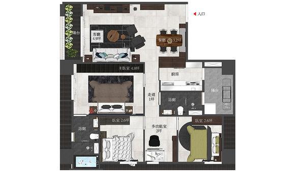 登陽中山苑 室內空間設計規劃平面圖.jpg