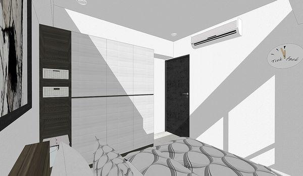 登陽中山苑 臥室空間收納系統衣櫃設計.jpg