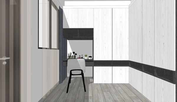 大漁建設森自在 主臥室更衣室空間系統衣櫃設計.jpg