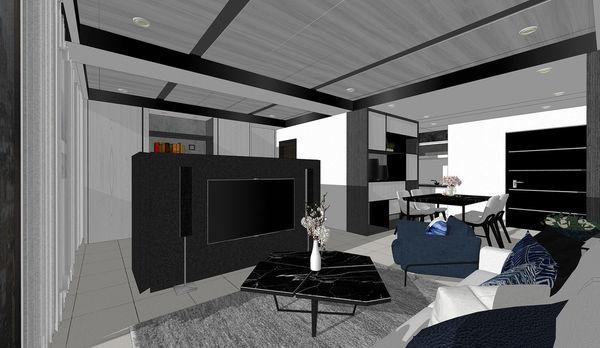 大漁建設森自在 客廳空間電視牆設計.jpg