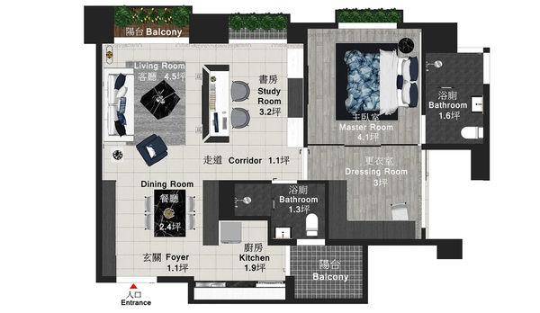 大漁建設森自在 室內空間規劃平面圖.jpg