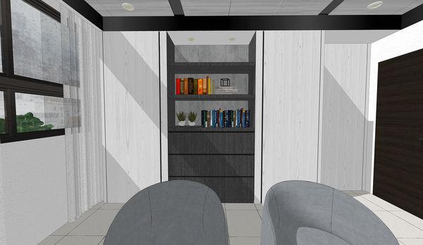 大漁建設森自在 書房空間收納系統書櫃設計.jpg