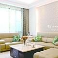 京佑雲岡室內設計|台中室內設計|客廳裝潢