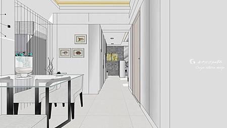 餐廳sketchup教學,紋理調整設定