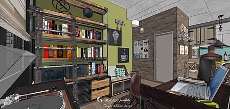 sketchup教學|LOFT風格設計|鄉村風格設計