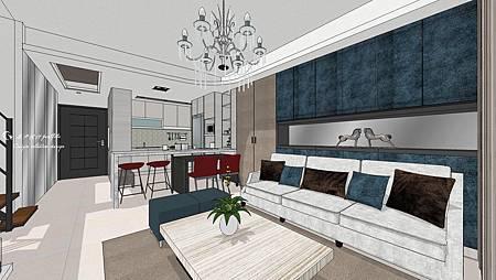 總瑩建設 左岸高第 室內設計