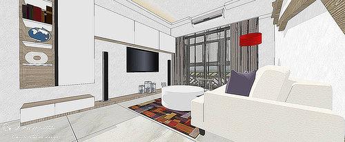 台中室內設計 居家裝潢 空間設計 電視牆設計 壁面造型 (5).jpg