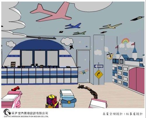 兒童房設計 育嬰中心補習班設計 室內裝潢 (2).jpg