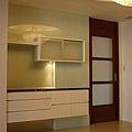 餐持櫃設計 廚房收納櫃 居家裝潢 水晶門板設計.jpg