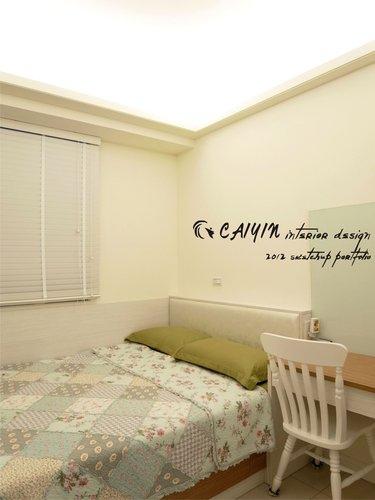 台中室內設計 居家裝潢 室內設計 天花板裝潢 臥室設計 系統家具 薪巢 (4).jpg
