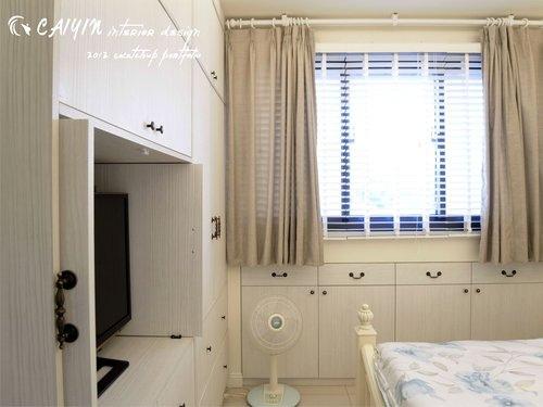 台中室內設計 居家裝潢 室內設計 天花板裝潢 臥室設計 系統家具 薪巢 (7).jpg