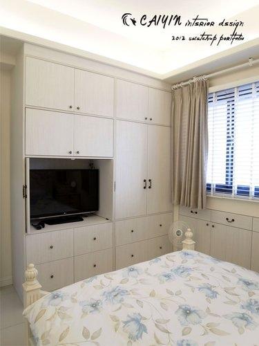 台中室內設計 居家裝潢 室內設計 天花板裝潢 臥室設計 系統家具 薪巢 (12).jpg