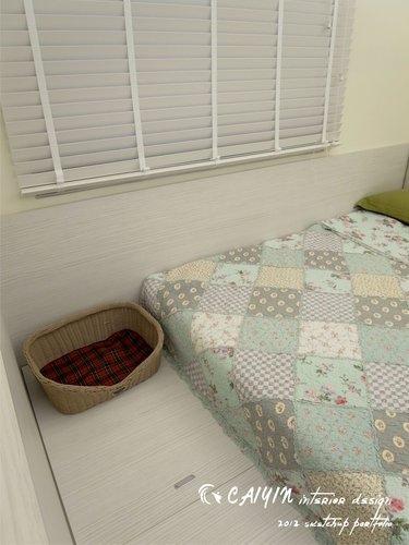 台中室內設計 居家裝潢 室內設計 天花板裝潢 臥室設計 系統家具 薪巢 (16).jpg