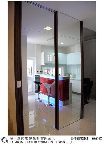 台中室內設計 居家裝潢 電視牆造型  餐廳設計 (4).jpg