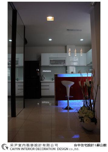 台中室內設計 居家裝潢 電視牆造型  餐廳設計 (2).jpg