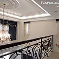 台中室內設計 臥室設計 天花板裝潢 衣櫃鋁框門 (6).jpg