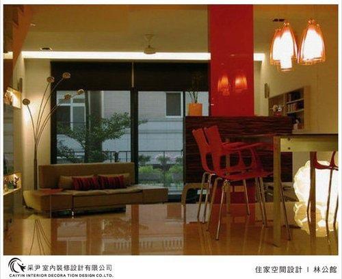 吧檯設計 客廳裝潢 玻璃隔間設計 電視牆旋轉設計 系統家具  (5).jpg