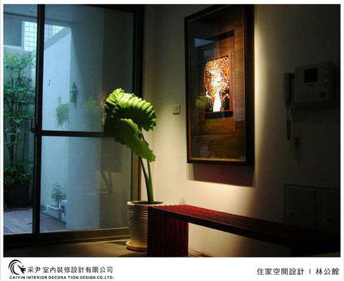 吧檯設計 客廳裝潢 玻璃隔間設計 電視牆旋轉設計 系統家具  (6).jpg