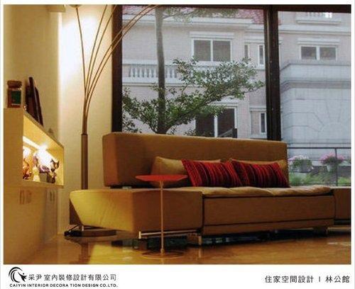 吧檯設計 客廳裝潢 玻璃隔間設計 電視牆旋轉設計 系統家具  (9).jpg