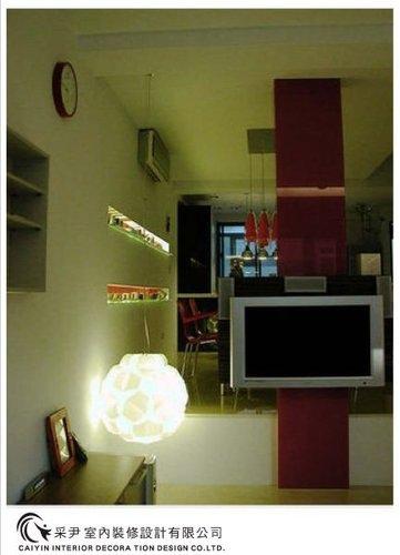 吧檯設計 客廳裝潢 玻璃隔間設計 電視牆旋轉設計 系統家具  (12).jpg
