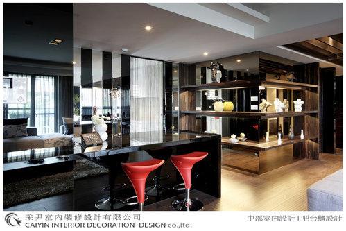 台中室內設計 系統櫃 客廳裝潢 居家設計 吧檯設計 廚房設計 餐廳裝潢 (1).bmp