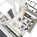 商業空間規劃 俯視圖