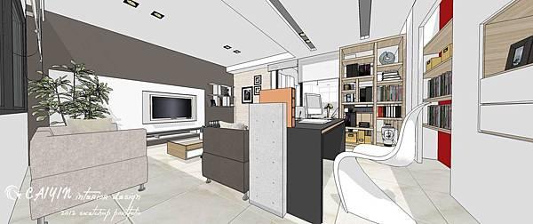 沉穩簡潔的北歐風設計 客廳設計/餐廳設計