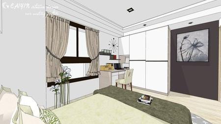 客廳設計 系統櫃 住宅設計 裝潢 (1)